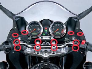 Suzuki GSF600 1200 Bandit Stainless Steel Controls Screws Bolts kit Handlebar Uk