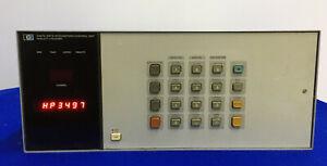 HEWLETT PACKARD HP 3497A DATA ACQUISITION/CONTROL UNIT
