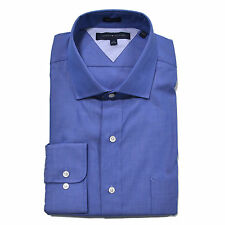 Tommy Hilfiger Mens Dress Shirt Regular Fit Button Up Professional Collared New
