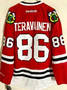 Reebok Premier NHL Jersey Chicago Blackhawks Teuvo Teravainen Red sz L