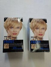 L'OREAL LA PETITE FROST #H75 CHARDONNAY LIGHT BLONDE TO DARK BLONDE Lot Of 2