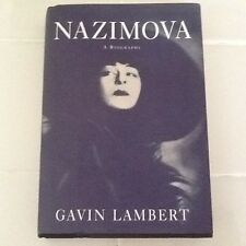 Nazimova Bio Silent Film Actress Valentino Natacha Rambova Mathis  Photos HC/DJ