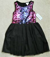 CAT /& JACK Girls Gold Mesh /& Sequins Bubble Skirt