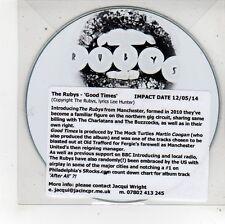 (FU551) The Rubys, Good Times - 2014 DJ CD