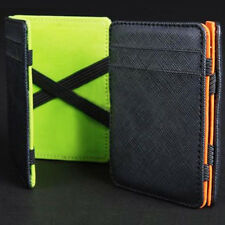 MAGICO Credito Carte DI Portafoglio Banconote Magic Wallet Cash Holder Unisex gh