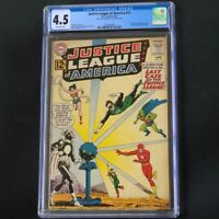 Justice League of America #12 🔥 CGC 4.5 🔥 1st App Doctor Light! DC Comics 1962