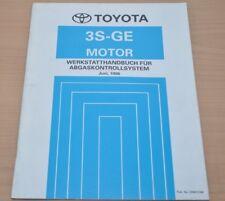 Werkstatthandbuch Toyota 3S-GE Motor Abgaskontrollsystem Juni 1996