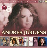 ANDREA JÜRGENS - KULT ALBUM KLASSIKER  5 CD NEU