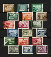 (YYAW 533) Germany 1939 - 1941 used Mi 702 - 713, 773 - 778 Sc B148 - B159 Nazi