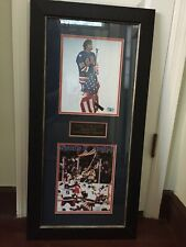 Jim Craig Miracle on Ice autographed picture