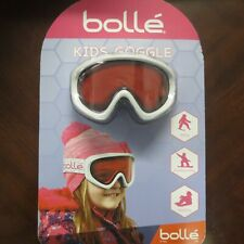 Bolle Kids Snow Goggles Kids Ski Goggles Girls Snow Goggles White/Pink  ~NEW~