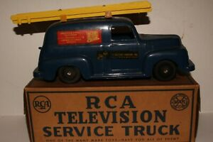 Marx 1950 Ford RCA Television Service Truck with Original Box