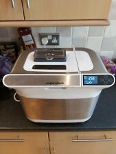 Morphy Richards Model No. 48324 White Premium Plus BreadMaker WORKING