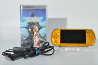 Exc. SONY PSP-3000BY PSP 3000 Bright Yellow Playstation portable 4GB 536381