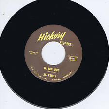 AL TERRY - WATCH DOG b/w WILEY BARKDULL - AIN'T GONNA WASTE MY TIME -Rockabilly
