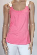 Short Stories Brand Coral Relax Sleepwear Singlet Top Size 12-M BNWT #SS64