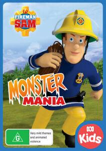 Fireman Sam: Monster Mania - DVD (NEW & SEALED)