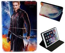 Per iPad Air 1-2 iPad 5-6 MARVEL DC FRECCIA STAND CUSTODIA COVER Wake Sleep Sensore
