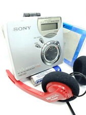 Sony MZ-N510 Net MD Walkman Mini Disc Player Recorder Recording Stereo - SILVER
