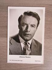 Johannes Heesters originale Autogrammkarte ohne Signatur!!! TT1