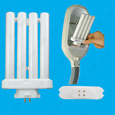 27W CFL GX10q-4 4 Pin FML 6400K, High Vision Daylight White SAD Light Bulb Lamp