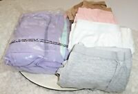Lot Of 9 Comfort Choice Cotton Stretch Underwear Women Plus Sz 12 Full Cut Brief