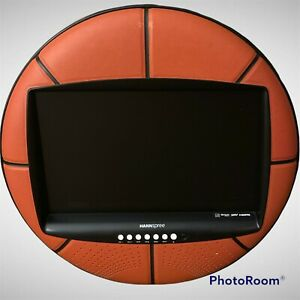 """UNIQUE Hannspree LCD TV 28"""" Basketball TV Works Great"""
