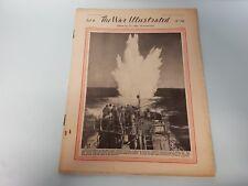 The War Illustrated No. 92 Vol 4 1941 Arabs Suez Depth Charge Habbaniyah