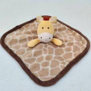KOALA BABY Fleece GIRAFFE Security Blanket Lovey Soother Soft