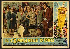 FOTOBUSTA, IL CAMPANILE D'ORO, BELLISSIMA IMMAGINE VESPA PIAGGIO, MOTO, POSTER