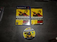 DEADLY STRIKE  Ps2 Playstation PAL español. En buen estado