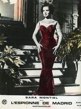 SARA MONTIEL LA REINA DEL CHANTECLER 1962 VINTAGE LOBBY CARD #1