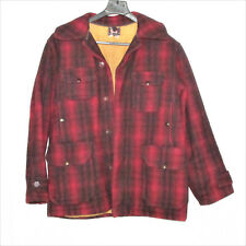 d25321a0a6b58 Woolrich Hunting Coat Jacket 503 Mackinaw Size 44 Vintage 1940 1950 Wool USA