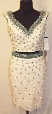 VIENNA 1519 PROM PARTY PAGEANT DRESS 4 WHITE $119 OBO NWT