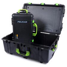 Combo Package - Black & Lime Green Pelican 1650 no foam & Pelican 1510 No foam.
