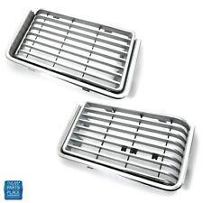 1972-72 Oldsmobile Cutlass 'S' Nos Grille Pair - 410794 / 231331 - Pair (Fits: Oldsmobile)