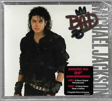 2 CD MICHAEL JACKSON - BAD 25 [BRAZILIAN LIMITED RELEASE WITH SLIPCASE]