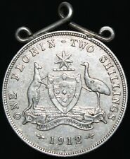 1912 | Australia One Florin Two Shillings 'Mounted' | Silver | Coins | KM Coins