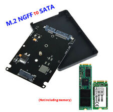 2.5 Inch SATA to M2 NGFF SSD Converter Internal External Adapter Card For-Laptop