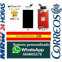 "Pantalla Completa Tactil + LCD Para Iphone 6S 4,7"" Blanco Blanca Retina"