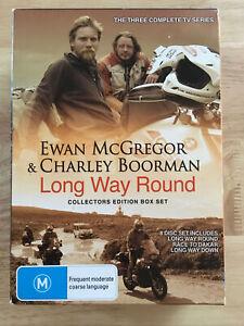 Long Way Round Collectors Edition Box Set - 8 Disc DVD Set - Dakar