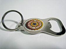 Newcastle Brown Ale Silver Tone Chrome (Metal Look) Beer Bottle Opener Key Chain