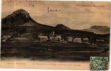 CPA  - Le Mézenc, vu du Village de Borée (280104)