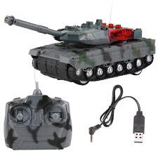 Elektrische RC Tank Ferngesteuerter Panzer 4 Kanäle Modell Spielzeug Geschenk