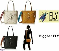 FLY London Ladies Bigg611FLY Top-Handle Tote Bag
