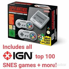 New Nintendo SNES mini classic with 213 extra games - Fast dispatch& delivery!