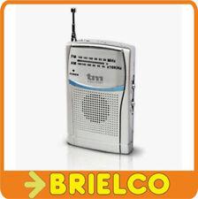 RADIO PORTATIL AM-FM ANALOGICA DE BOLSILLO 103X60X17MM ALIMENTACION 2XAAA BD5307