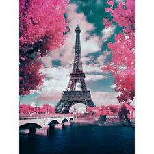 Diy Full 5D Diamond Painting Cross Stitch Eiffel Tower Kits Art Decoration