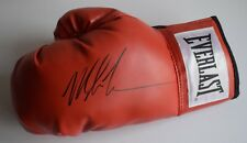 Mike Tyson Signed Boxing Glove Autograph Sport AFTAL Memorabilia COA
