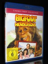 BLU-RAY BIGFOOT UND DIE HENDERSONS - CINEMA FINEST COLLECTION - 80er KULT * NEU